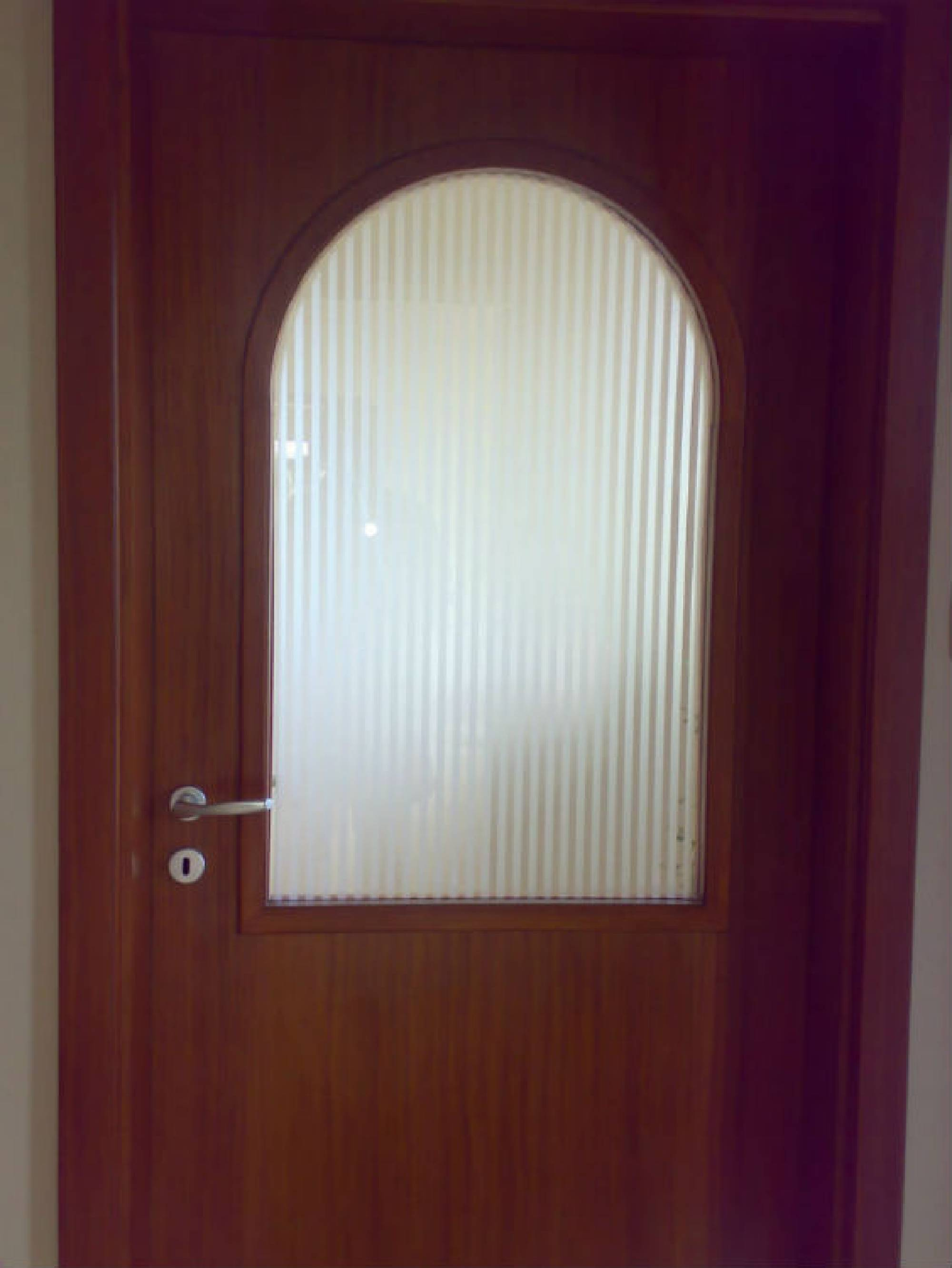 Interior door Ornamental glass